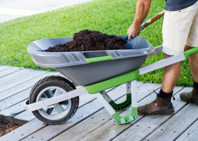 Lock + Load Wheelbarrow – Industrial design and product development