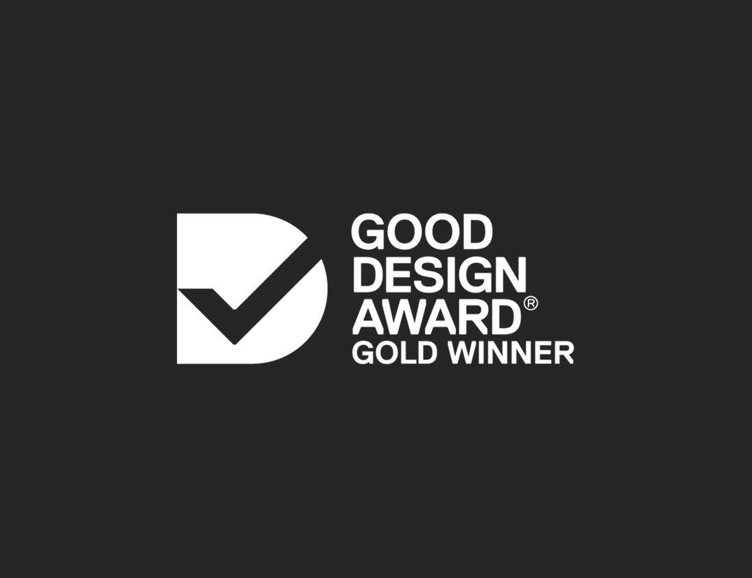 Good Design Award Gold